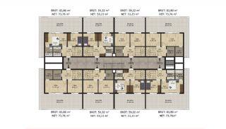 Comfortable Spacious Apartments in Bursa Mudanya, Property Plans-8