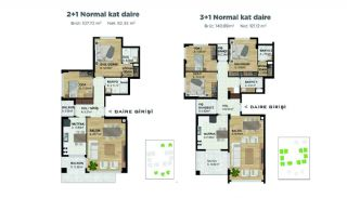 Spacious Properties at the Developing Area of Bursa, Property Plans-1