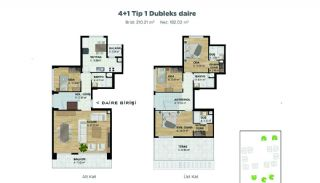 Spacious Properties at the Developing Area of Bursa, Property Plans-2