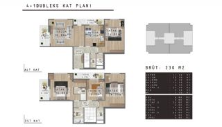 Modern Apartments with Quality Design in Nilufer Bursa, Property Plans-2