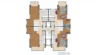 Flats with Quality Design in the Developing Region of Bursa, Property Plans-1