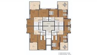 Flats with Quality Design in the Developing Region of Bursa, Property Plans-2