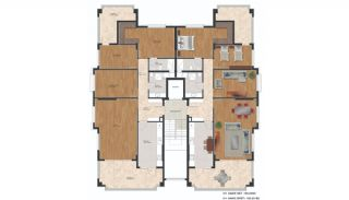 Flats with Quality Design in the Developing Region of Bursa, Property Plans-3