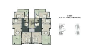 Investment Apartments Intertwined with Nature in Bursa, Property Plans-3