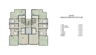 Investment Apartments Intertwined with Nature in Bursa, Property Plans-4