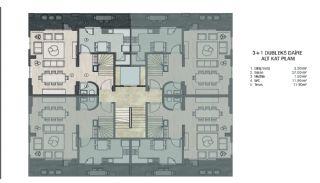 Недвижимость в Бурсе в Комплексе, Адаптированном для Инвалидов, Планировка -1