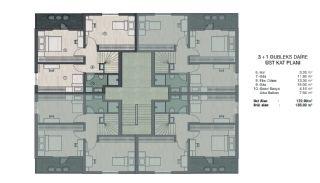 Недвижимость в Бурсе в Комплексе, Адаптированном для Инвалидов, Планировка -2