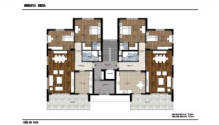 Key-Ready Flats with Sea and Forest View in Mudanya, Bursa, Property Plans-1