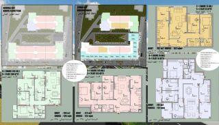 Investeringsfastigheter nära Botaniska trädgårdar i Bursa, Planritningar-1
