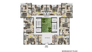 Меблированные Квартиры с Инвестиционным Потенциалом в Бурсе, Планировка -1