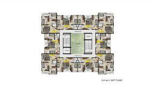 Меблированные Квартиры с Инвестиционным Потенциалом в Бурсе, Планировка -3