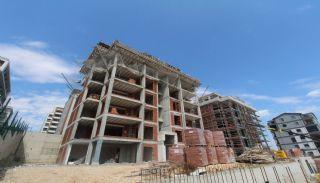 Просторная Недвижимость в Бурсе, Нилюфер с Видом на Улудаг, Фотографии строительства-1