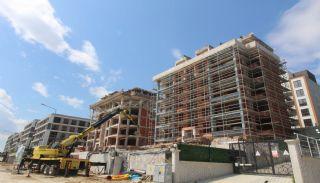 Просторная Недвижимость в Бурсе, Нилюфер с Видом на Улудаг, Фотографии строительства-2