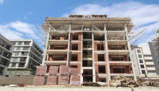 Просторная Недвижимость в Бурсе, Нилюфер с Видом на Улудаг, Фотографии строительства-3