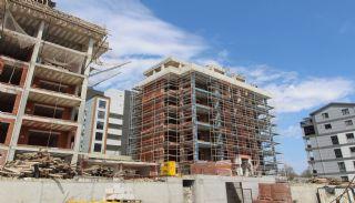 Просторная Недвижимость в Бурсе, Нилюфер с Видом на Улудаг, Фотографии строительства-4