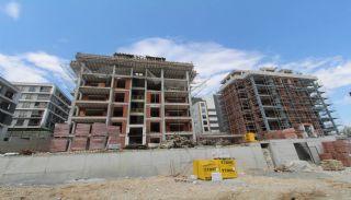 Просторная Недвижимость в Бурсе, Нилюфер с Видом на Улудаг, Фотографии строительства-5