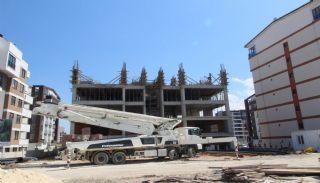 Современные Элитные Квартиры в Новом Проекте в Нилюфер, Бурса, Фотографии строительства-4