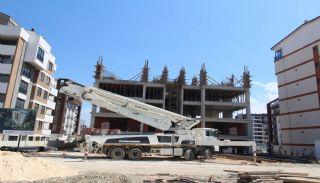 Современные Элитные Квартиры в Новом Проекте в Нилюфер, Бурса, Фотографии строительства-5