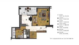 Appartements Abordables Complexe Résidentiel Moderne à Bursa, Projet Immobiliers-1