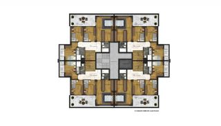 Affordable Flats of Modern Residential Project in Bursa, Property Plans-2