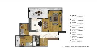 Affordable Flats of Modern Residential Project in Bursa, Property Plans-4