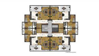 Appartements Abordables Complexe Résidentiel Moderne à Bursa, Projet Immobiliers-5