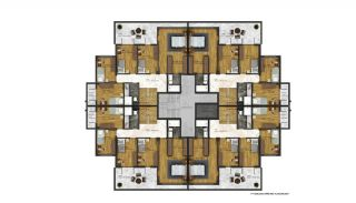 Affordable Flats of Modern Residential Project in Bursa, Property Plans-7