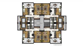 Appartements Abordables Complexe Résidentiel Moderne à Bursa, Projet Immobiliers-8