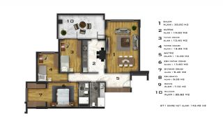 Affordable Flats of Modern Residential Project in Bursa, Property Plans-10