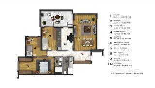 Appartements Abordables Complexe Résidentiel Moderne à Bursa, Projet Immobiliers-10