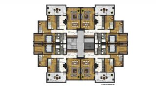 Affordable Flats of Modern Residential Project in Bursa, Property Plans-11