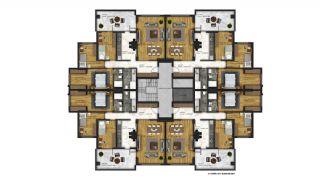 Appartements Abordables Complexe Résidentiel Moderne à Bursa, Projet Immobiliers-11