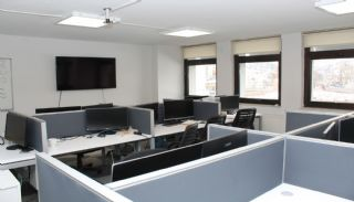 Capacious Office with Ready Corporate Tenant in Ankara Ulus, Interior Photos-7