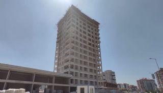 Moderna lägenheter i ett lyxigt komplex i Ankara Yenimahalle, Byggbilder-2