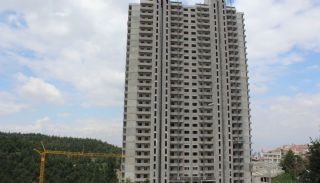 Unika lägenheter med skogsutsikt till salu i Cankaya Ankara, Byggbilder-2