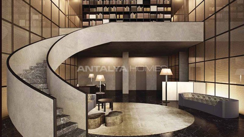 Real estate in istanbul with bosphorus view for Interieur 010