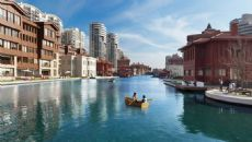 Bosphorus City - Semt Villas, Istanbul / Kucukcekmece - video