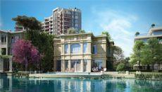 Waterkant Huizen in Kucukcekmece Istanbul, Istanbul / Kucukcekmece