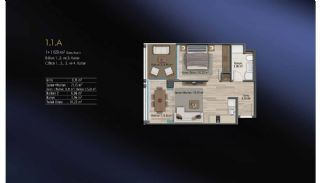 Smart Flats Offering Comfortable Life in Kadıköy Istanbul, Property Plans-15