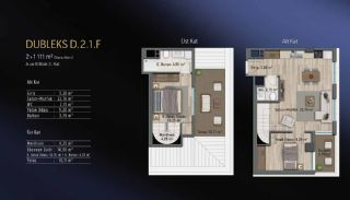Smart Flats Offering Comfortable Life in Kadıköy Istanbul, Property Plans-16