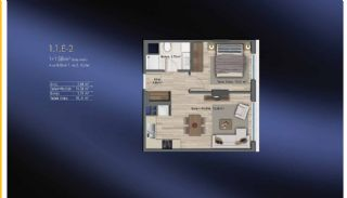 Smart Flats Offering Comfortable Life in Kadıköy Istanbul, Property Plans-19