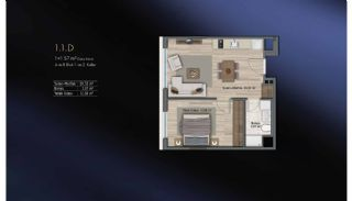Smart Flats Offering Comfortable Life in Kadıköy Istanbul, Property Plans-20