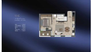 Smart Flats Offering Comfortable Life in Kadıköy Istanbul, Property Plans-21