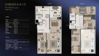 Smart Flats Offering Comfortable Life in Kadıköy Istanbul, Property Plans-3