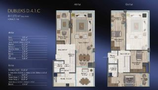 Smart Flats Offering Comfortable Life in Kadıköy Istanbul, Property Plans-4