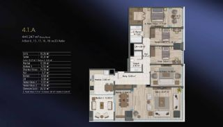 Smart Flats Offering Comfortable Life in Kadıköy Istanbul, Property Plans-6