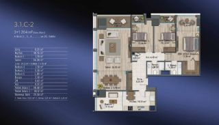 Smart Flats Offering Comfortable Life in Kadıköy Istanbul, Property Plans-7
