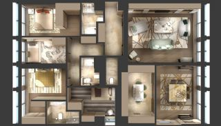 Prestigious Apartments with Smart Technology in Istanbul, Property Plans-4