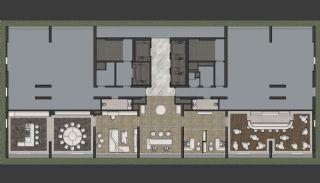 Prestigefyllda lägenheter med smart teknik i Istanbul, Planritningar-5