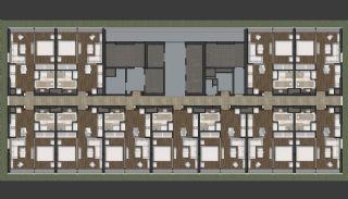 Prestigefyllda lägenheter med smart teknik i Istanbul, Planritningar-6